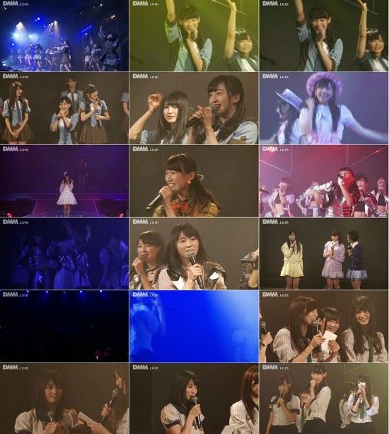 """(LIVE)(公演) HKT48 チームH """"最終ベルが鳴る"""" 駒田京伽の生誕祭 141121 & 141109"""