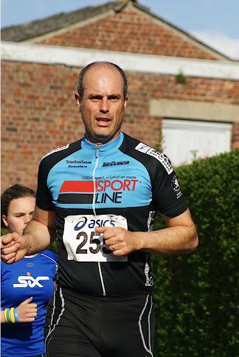 Peter Rousseau, 10 km prestatieloop, Krottegemse Corrida 2013, Roeselare Loopt