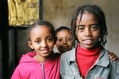 Ethiopian children. Photo credit Graham Peebles.