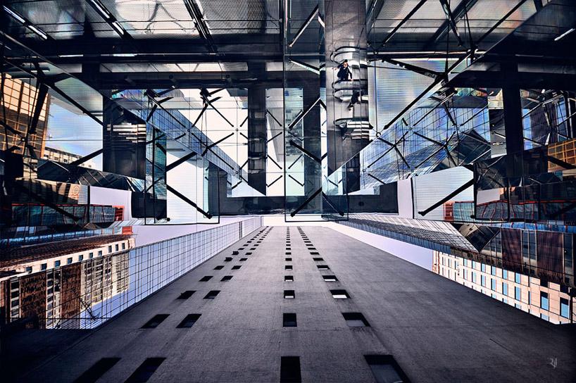 *垂直地平線:藝術家 Romain Jacquet-Lagreze 90度香港仰空攝影作品! 6