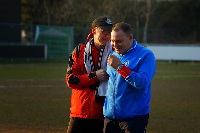 de coaches, Carlo Lanssens en Dirk Maes