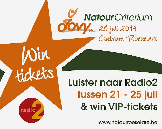 Luister naar radio2 en win VIP tickets