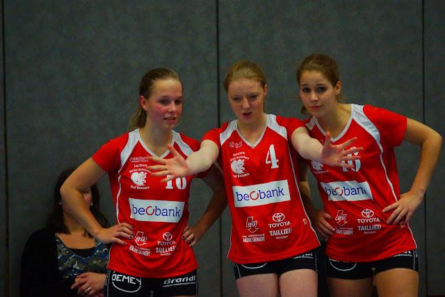 Quirine Pattyn, Sarah Degryse en Tine Verhelst