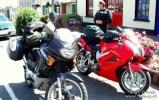 Our bikes in Tarbert