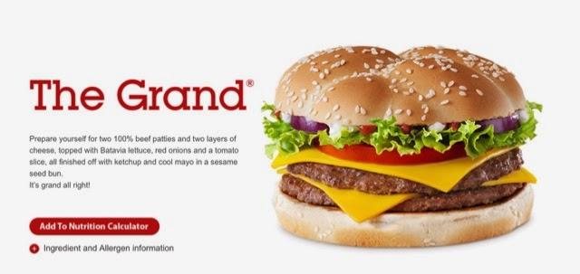McDonald's The Grand Burger