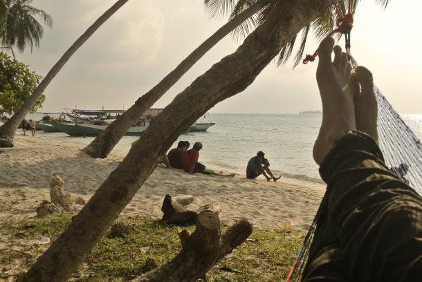 relax en la isla de karimunjawa