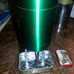I built an Altoids tin multi-fuel backpacking stove