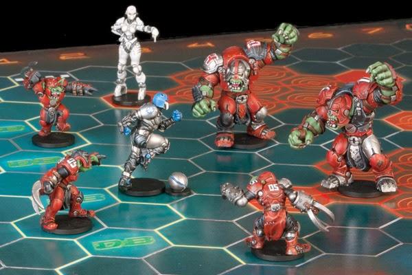 Mantic Games, Dreadball, Juegos de Especialista, blood bowl, juegos de mesa, marauder, orco, orc, corporación, humanos, Crying Grumpies