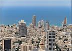 Тель Авив с крыши Азриэли