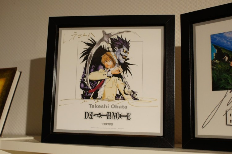 Death Note Takeshi Obata Shikishi Tokyopop