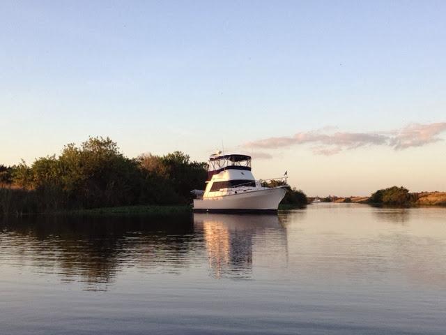 Boating Okeechobee Waterway