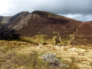 Ard Crags Summit with Sail and Crag Hill