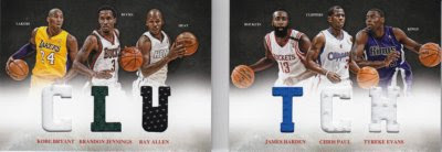 12/13 Panini Preferred Clutch Book Jersey