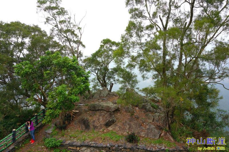 神山斷崖 埋藏了魯凱族秘辛,僅限老一輩的人所知悉的神山斷崖。