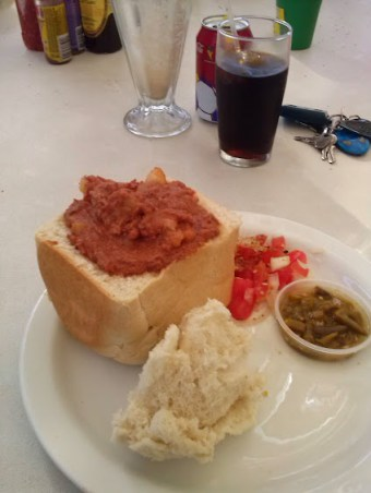 bunny chow in durban, south africa