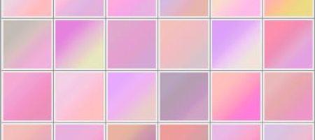 [Gradients整理]粉色系漸層集-1