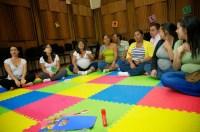 Canto Infantil y la Comunicación Prenatal fue la actividad diseñada en el Cnaspm este fin de semana para las madres embarazadas