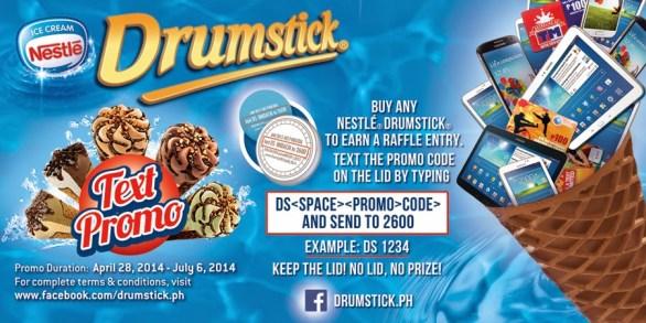 new Nestle Drumstick Flavors promo raffle