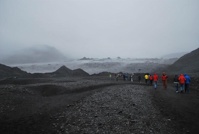 La excursión por el sur de Islandia fue organizada por los monitores del campo de trabajo