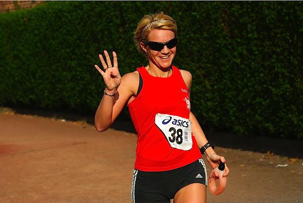 Debby Delannoy, 10 km prestatieloop, Krottegemse Corrida 2013, Roeselare Loopt