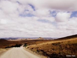 Approaching Isandlwana