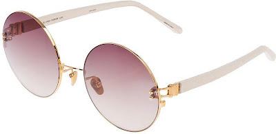 Linda Farrow Luxe - Round Frame Sunglasses