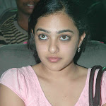 Nithya Menon in Pink  Top & Jeans Pics