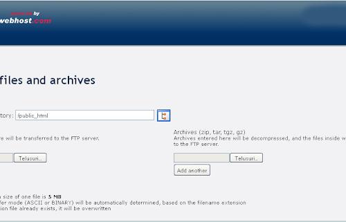 Upload File di 000webhost