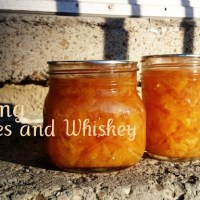 Canning Oranges in Whiskey