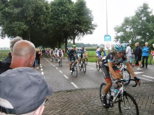 Peloton Eneco Tour na bevoorrading
