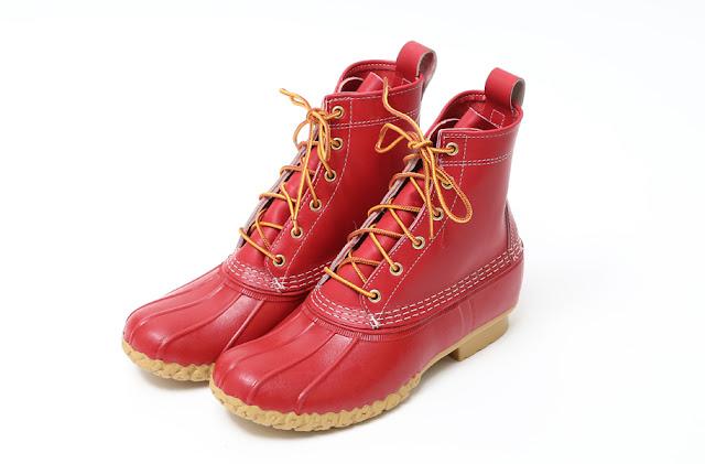 #L.L.Bean x BEAMS 聯合狩獵:MAINE HUNTING SHOE 狩獵靴即將登場! 2