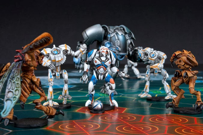 Mantic Games, Dreadball, Juegos de Especialista, blood bowl juegos de mesa, Zz'or, ludwig, Robots Crying Grumpies