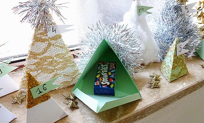 Noël : calendrier de l'avent pour les enfants.