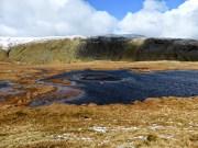 A tarn on the way to Calf Crag