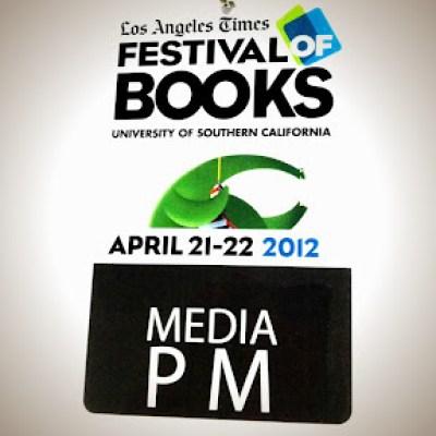 official media badge LA Times Festival of Books 2012