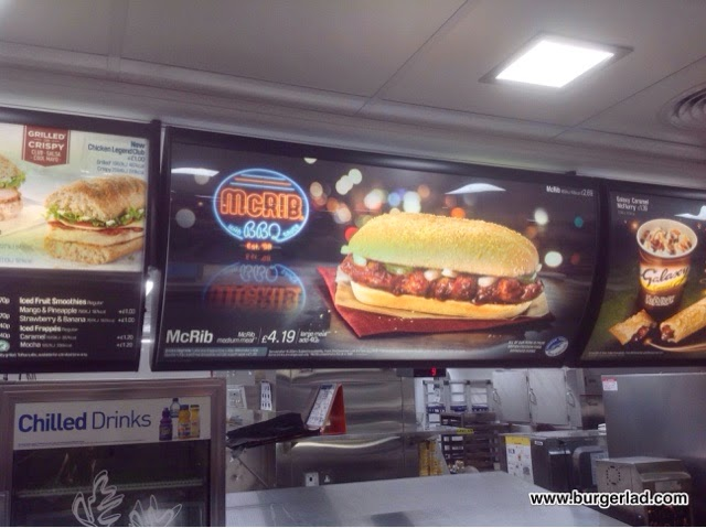 McDonald's McRib UK