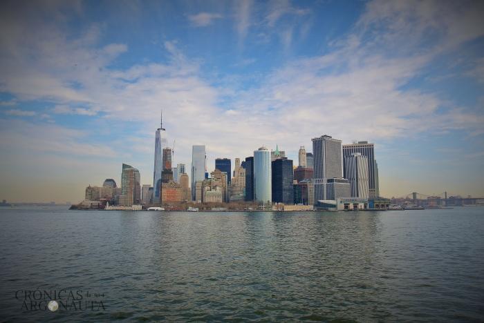 Viajar a Nueva York para ver la isla de Manhattan