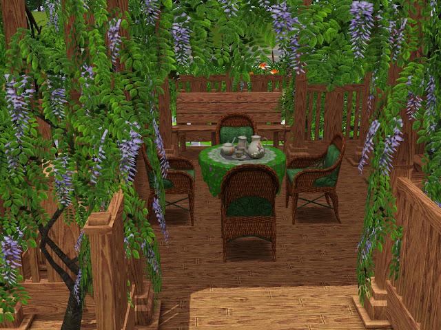 How Build Garden Sims 3 Ipad