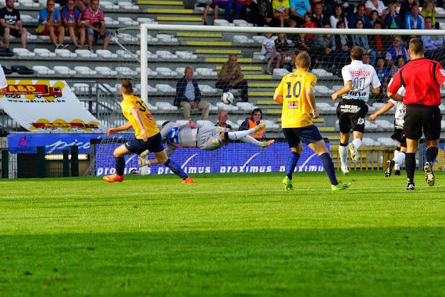 1e goal tegen