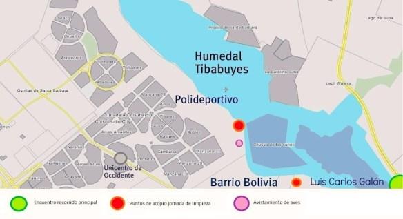 Mapa Humedal Tibabuyes