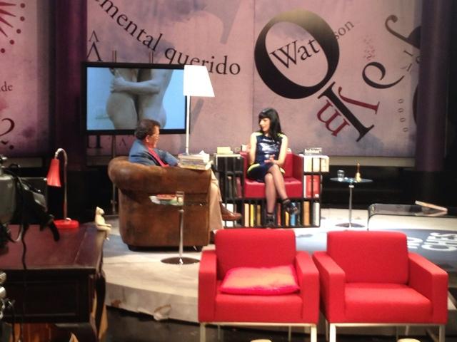 TeleMadrid julio 2012 | Fernando Sánchez Dragó me entrevista en 'Las noches blancas'