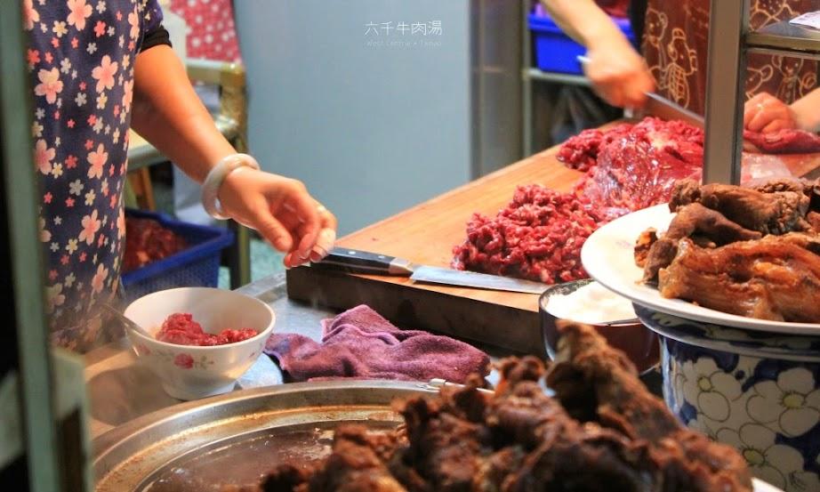 台南早餐,六千牛肉湯-1