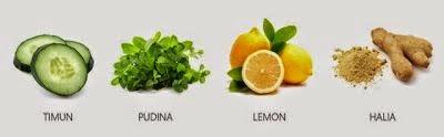 resepi air detoks
