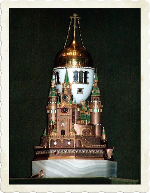 Faberge Eggs;Azov Egg; Kremlin Armoury Museum