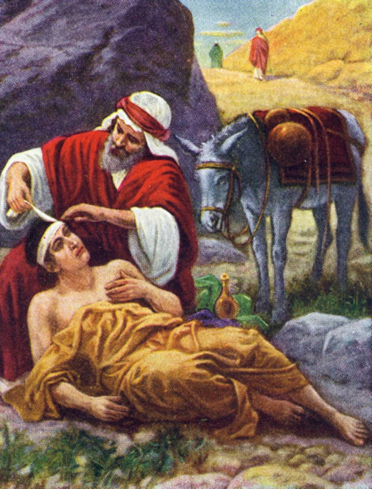 Kuvahaun tulos haulle parable of good samaritan