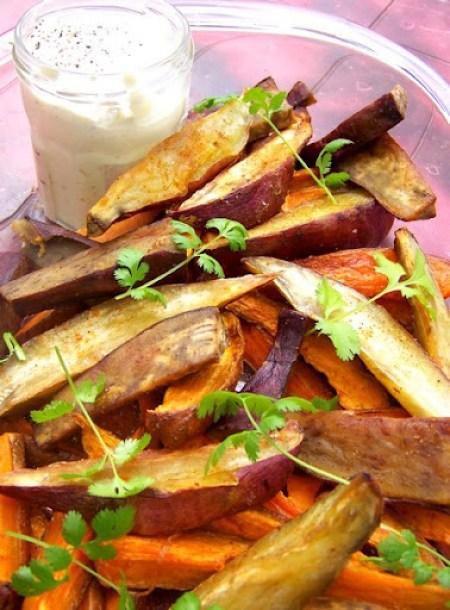 Ottolenghi: Patate douce rôtie, crème à la citronnelle Accompagnements Cuisine estivale La Cuisine