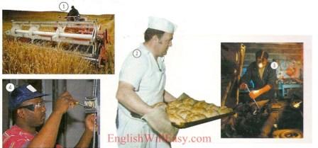 Empleos-trabajo/ocupaciones-Diccionario de imágenes