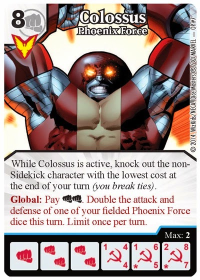 marvel dice masters, coloso, Crying Grumpies