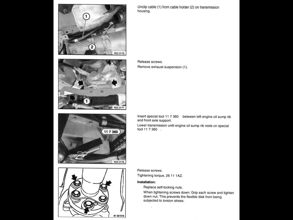 Diy Rear Main Seal Clutch Driveshaft Diy With Pics
