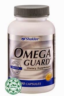 Omega Guard Shaklee-Turunkan Berat Badan-Minyak Ikan